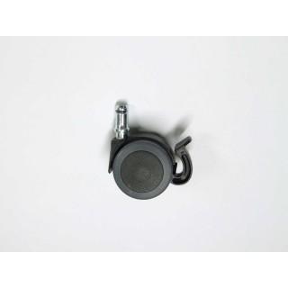 gdle roulettes avec p dale de frein axe 11 20 cm. Black Bedroom Furniture Sets. Home Design Ideas