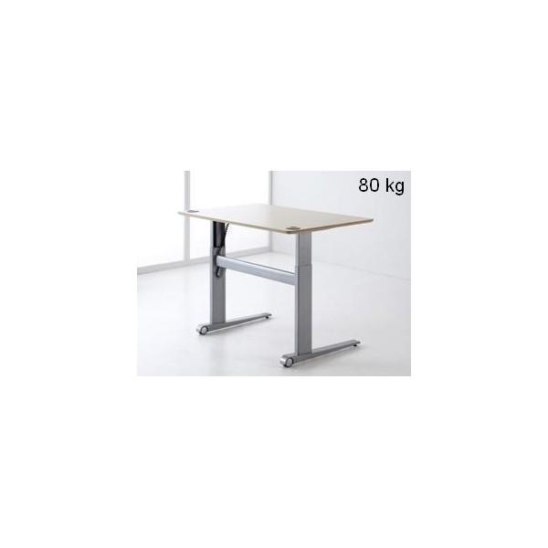 gdle 501 17 pietement hauteur variable 80 kg. Black Bedroom Furniture Sets. Home Design Ideas