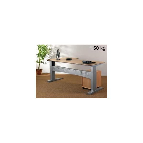 Gdle table ou pi tement seul r glable en hauteur charge max 150 kg - Table de travail reglable en hauteur ...